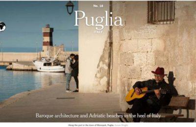 Porto di Monopoli, il New York Times lo sceglie come copertina per la Puglia